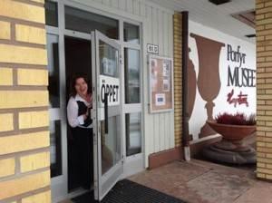 Marit håller muséet öppet mellan 10-15 onsdag, torsdag och fredag under vecka 9. Alla är välkomna!