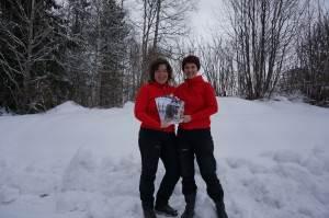 Marit Norin och Karin Hellström arbetar för att utveckla Happy Älvdalen; ett koncept som ska få fler att vilja besöka, bo och verka i Älvdalen.