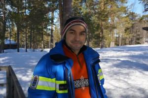 Eduardo flyttade från Mexico City till Älvdalen 2007. Idag bor han i Idre med sin sambo, en son och har ett jobb som han trivs med i nationalparken.