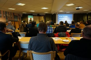 Företagarna i Älvdalen och näringslivskontoret på Älvdalens kommun arrangerar regelbundet frukostmöten i Älvdalen