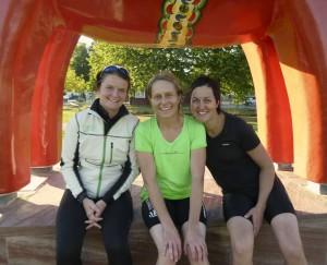 Sportkullorna Cathrine, Anne och Marie anordnar Sportkullan Adventure Race