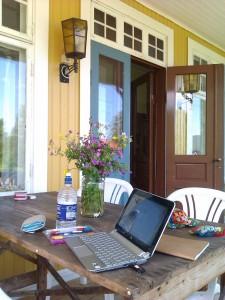 Skrivretreat - att få möjlighet att skriva i en inspirerande miljö, det låter härligt!