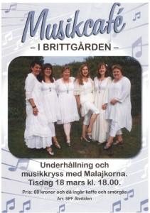Välkommen till Brittgården den 18 mars klockan 18.00!