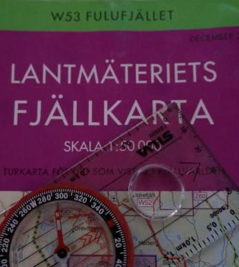 Karta Fulufjället