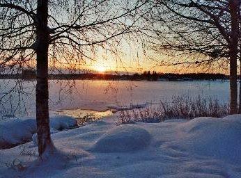 Solnedgång Lövnäsgården
