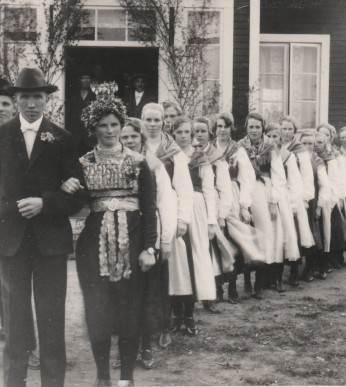Evertsberg 1927 bröllop