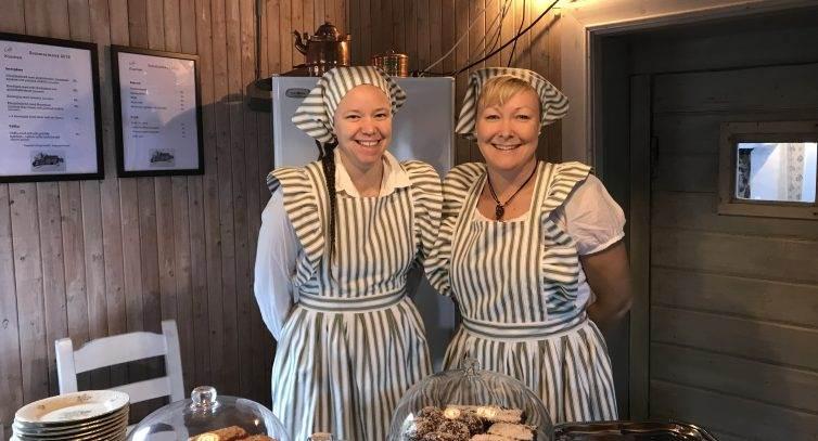 Mia och Karin i Kvarnen